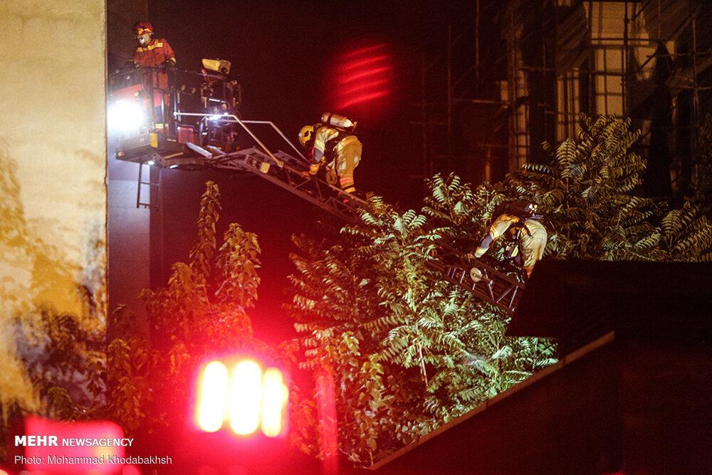 گزارش حادثه آتشسوزی مرکز درمانی اطهر نهایی شد