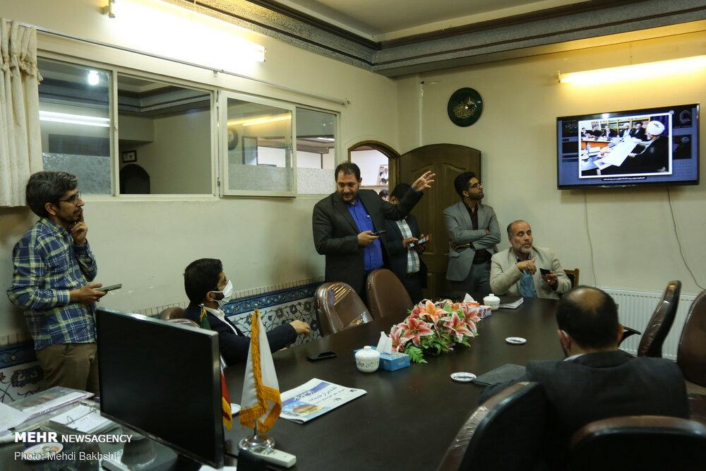 بازدید مدیرعامل گروه رسانه ای مهر از خبرگزاری حوزه