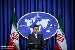 """المتحدث باسم وزارة الخارجية الإيرانية يعزي بحادث """"سينا أطهر"""""""