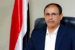 وزير الإعلام اليمني يدين الغارات الهستيرية على العاصمة صنعاء ومبنى الوزارة