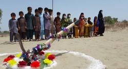 آئین کلنگ زنی چهار مدرسه در مناطق محروم جاسک برگزار شد
