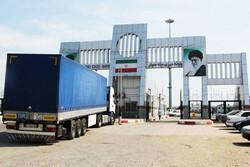 Goods transit via Iran's Bileh Savar on rise