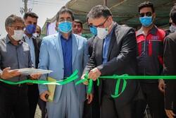 افتتاح نیروگاه خورشیدی لارستان