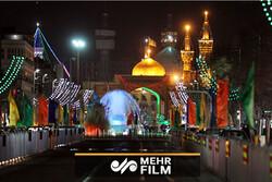 حال و هوای شهر مشهد مقدس در آستانه ولادت حضرت رضا(ع)