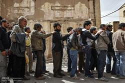 ۷۷ معتاد متجاهر در قزوین جمع آوری شدند