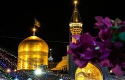 حضرت امام رضا (ع) کی ولادت باسعادت کی مناسبت سے مشہد میں جشن و سرور