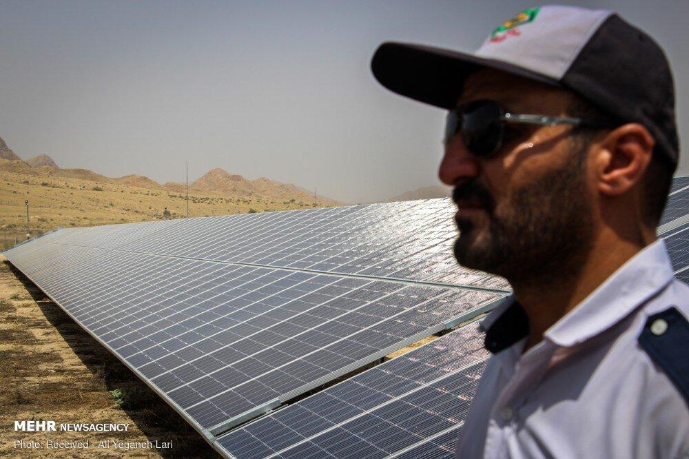 دومین نیروگاه خورشیدی در منطقه ۲ نصب میشود
