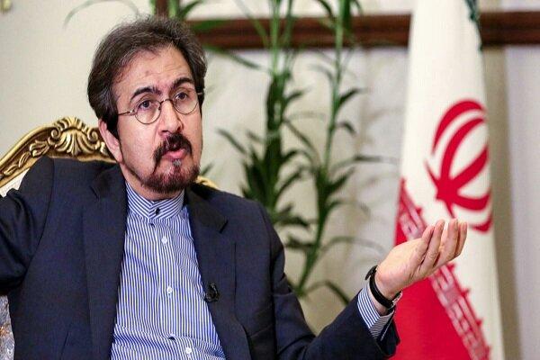 Iran enduring 40yrs of sanctions on human principles: envoy