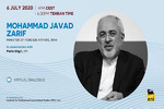 Zarif to address virtual MED2020 on Mon.