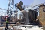 آتش سوزی در نیروگاه شهید مدحج زرگان اهواز مهار شد