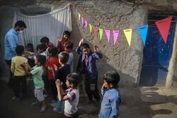 جشن میلاد امام رضا(ع) برای کودکان مناطق محروم
