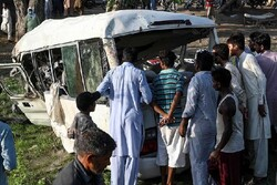 Train-van collision in Pakistan claims 22 lives