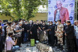 تہران میں سیروس گرجستانی کی تشییع جنازہ میں سیکڑوں افراد کی شرکت