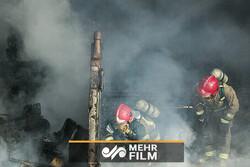 آتش سوزی در نیروگاه شهید مدحج زرگان