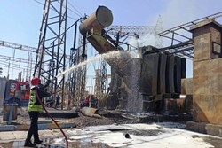 Fire in power plant in SW Iran contained
