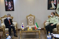 Head of Interpol in Iran holds talk with S Korean envoy