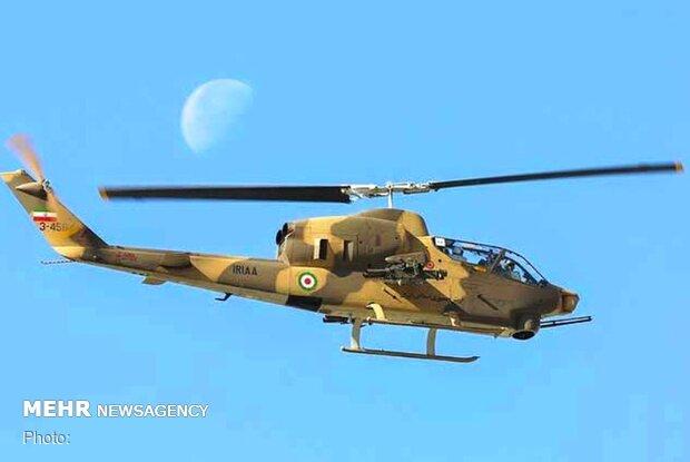 IRIAA overhauls eight Cobra, Bell 214 helicopters