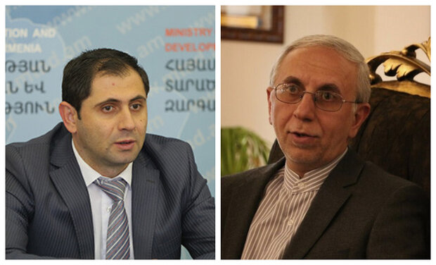 Iran, Armenia discuss expansion of ties