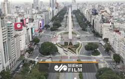 تصاویر هوایی از آرژانتین  در پی محدودیت های کرونایی