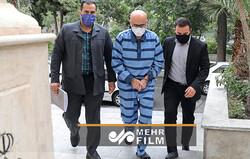 هشتمین جلسه رسیدگی به اتهامات اکبر طبری و متهمان دیگر