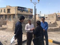 آب انبار شیخ در شهرستان خنج مرمت میشود