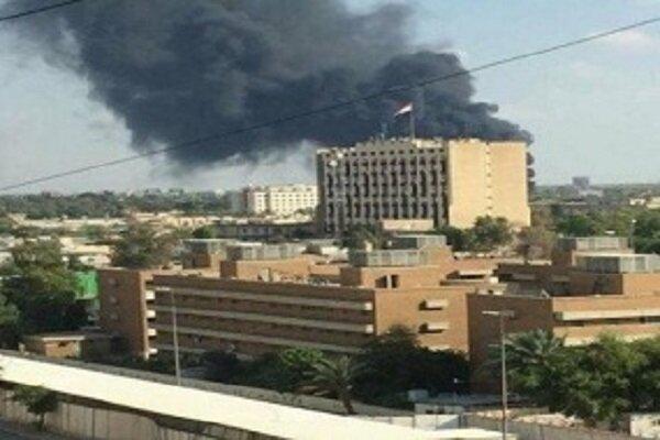 السفارة الأمريكية في العراق تتعرض للقصف الصاروخي