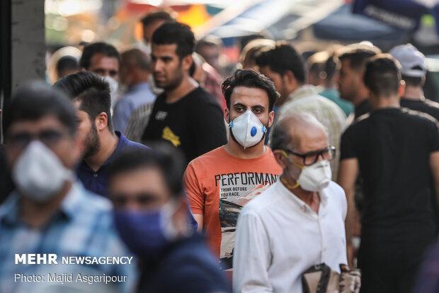 İran'da maske takma zorunluluğu geldi