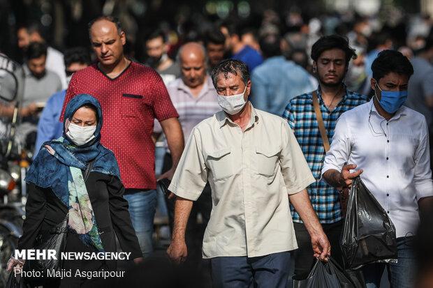 افراد عادی کجا ماسک بزنند/ رفتارهای غلط بهداشتی