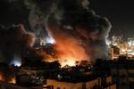 Siyonist Rejim, Gazze'de Hamas'a ait bir noktayı vurdu