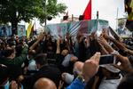 پیکر مدافع حرم شهید «محمد نوری»  در قرچک به خاک سپرده شد