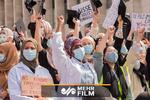 اعتراض مردم بلژیک به بی حجابی اجباری در مدارس