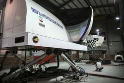 Unveiling ceremony of IRIAF's full flight simulator