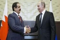 پوتین و پادشاه بحرین درباره حل بحران سوریه رایزنی کردند