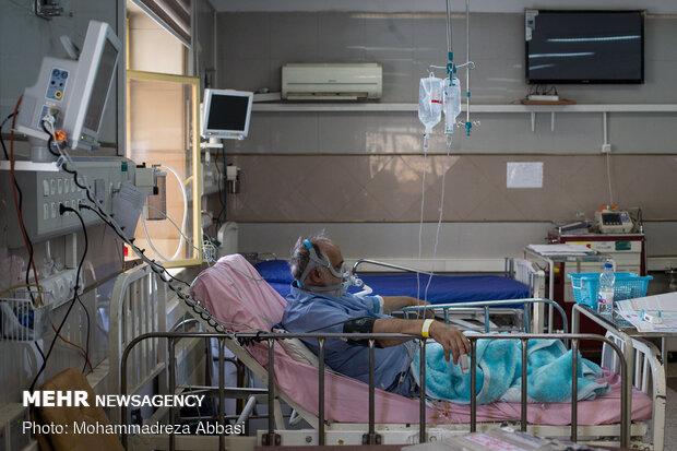 Special 'coronavirus' ward in Hajar Hospital, Tehran