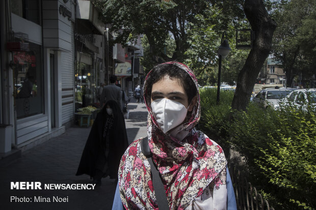 "Campaign entitled ""I Wear a Mask"" amid pandemic"