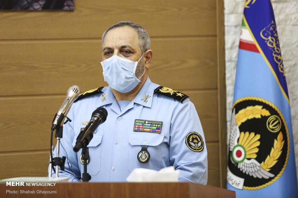 تجلیل فرمانده نیروی هوایی ارتش از پرسنل بهشت زهرا(س)