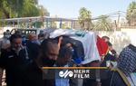 تشییع جنازه تحلیلگر برجسته عراقی