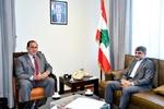 Iranian ambassador, Lebanese minister meet in Beirut