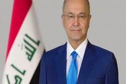 """برهم صالح يدعو الى الكشف عن منفذي جريمة إغتيال """"هاشم الهاشمي"""""""