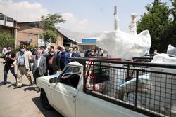 مراسم واگذاری یونیت های دندانپزشکی به مناطق محروم