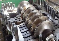 اجزای موتورهای توربین گازی صنعتی و هوایی ساخته شد