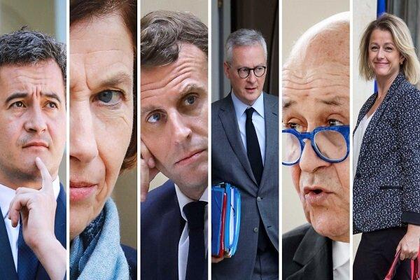 اعضای جدید دولت فرانسه معرفی شدند