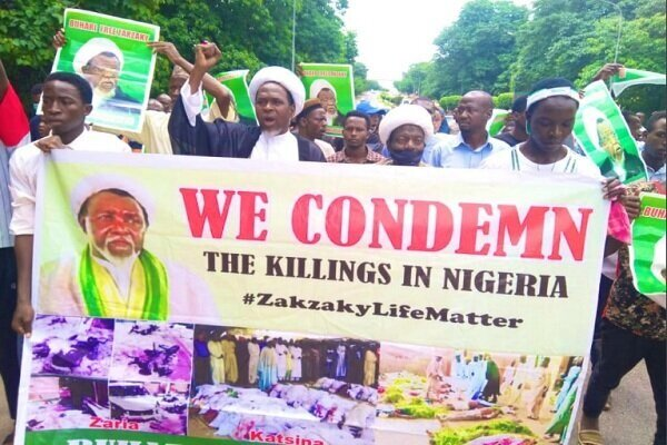 Sheikh Zakzaky's supporters stage protests in Nigeria