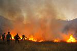 آتشسوزی جنگل در منطقه حفاظت شده کرائی شوشتر مهار شد