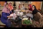 سری جدید «شام ایرانی» کلید خورد/ مهمانی بازیگران زن با تم مدرسه
