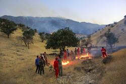ارسال تجهیزات اطفای حریق به استانهای زاگرسی کشور