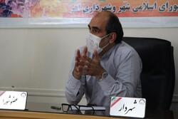 ساماندهی ورودیهای شهر اهر/ اصلاح وضعیت آسفالت بزرگراه اهر- تبریز