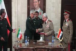 ایران اور شام نے عسکری اور سکیورٹی تعاون کے معاہدے پر دستخط کردیئے