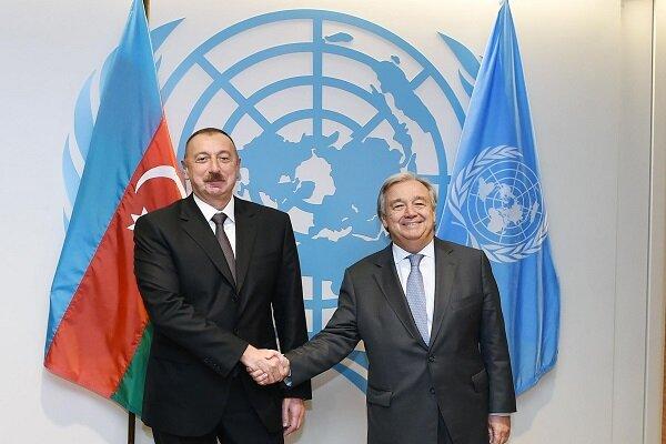 Cumhurbaşkanı Aliyev, BM Genel Sekreteri ile görüştü