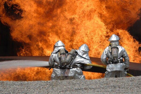 إزاحة الستار عن أول روبوت لإطفاء الحرائق